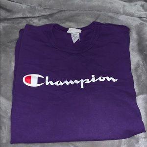 PURPLE CHAMPION TEE